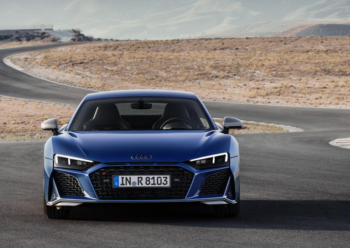 Audi R8 mit neuen Motorisierungen