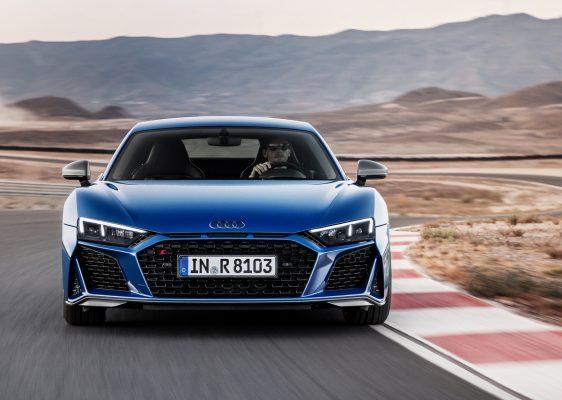 Frontansicht des neuen Audi R8
