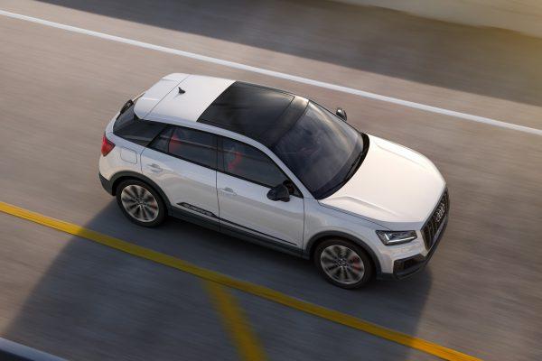 Obere Ansicht des Audi SQ2