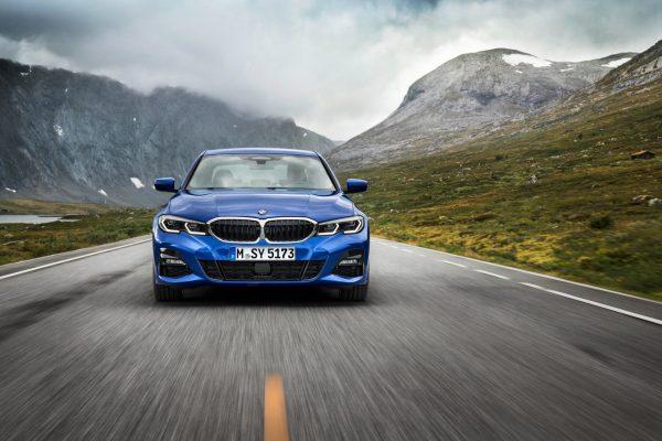 Frontansicht der neuen BMW 3er Limousine