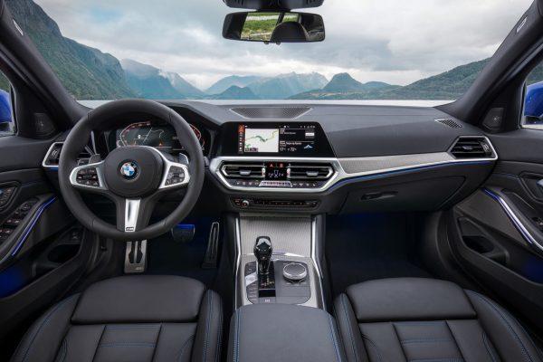 Interieur der neuen BMW 3er Limousine