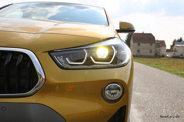 BMW X2 Scheinwerfer