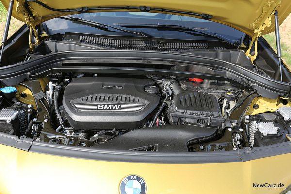 BMX X2 Motorraum