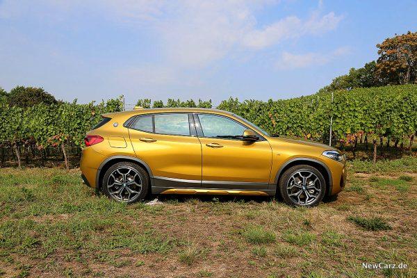 BMW X2 Seitenansicht