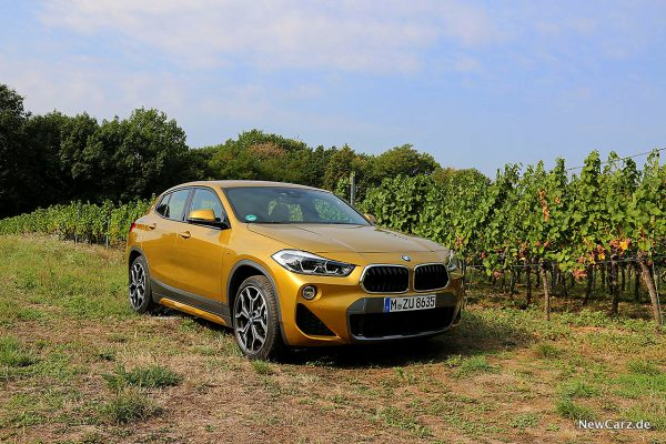 BMW X2 schräg vorne