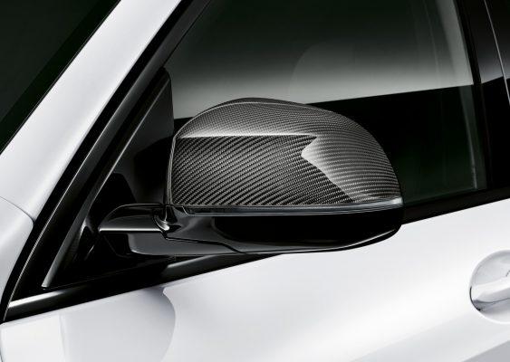 Außenspiegel des BMW X5 mit M Performance Parts