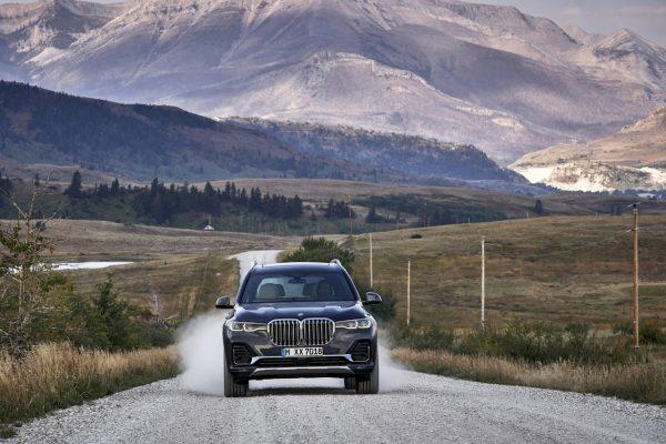 Frontansicht des BMW X7