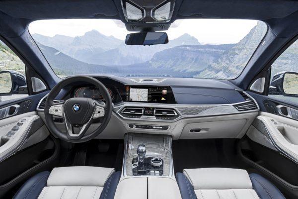 Interieur des BMW X7