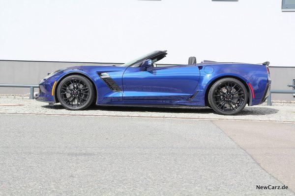 Corvette Z06 Cabriolet Seitenansicht