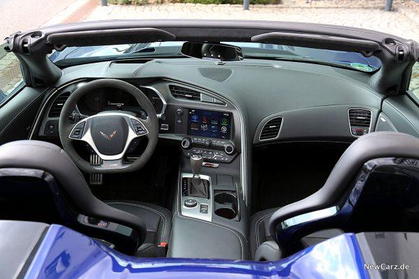 Corvette Z06 Cabriolet Instrumententafel