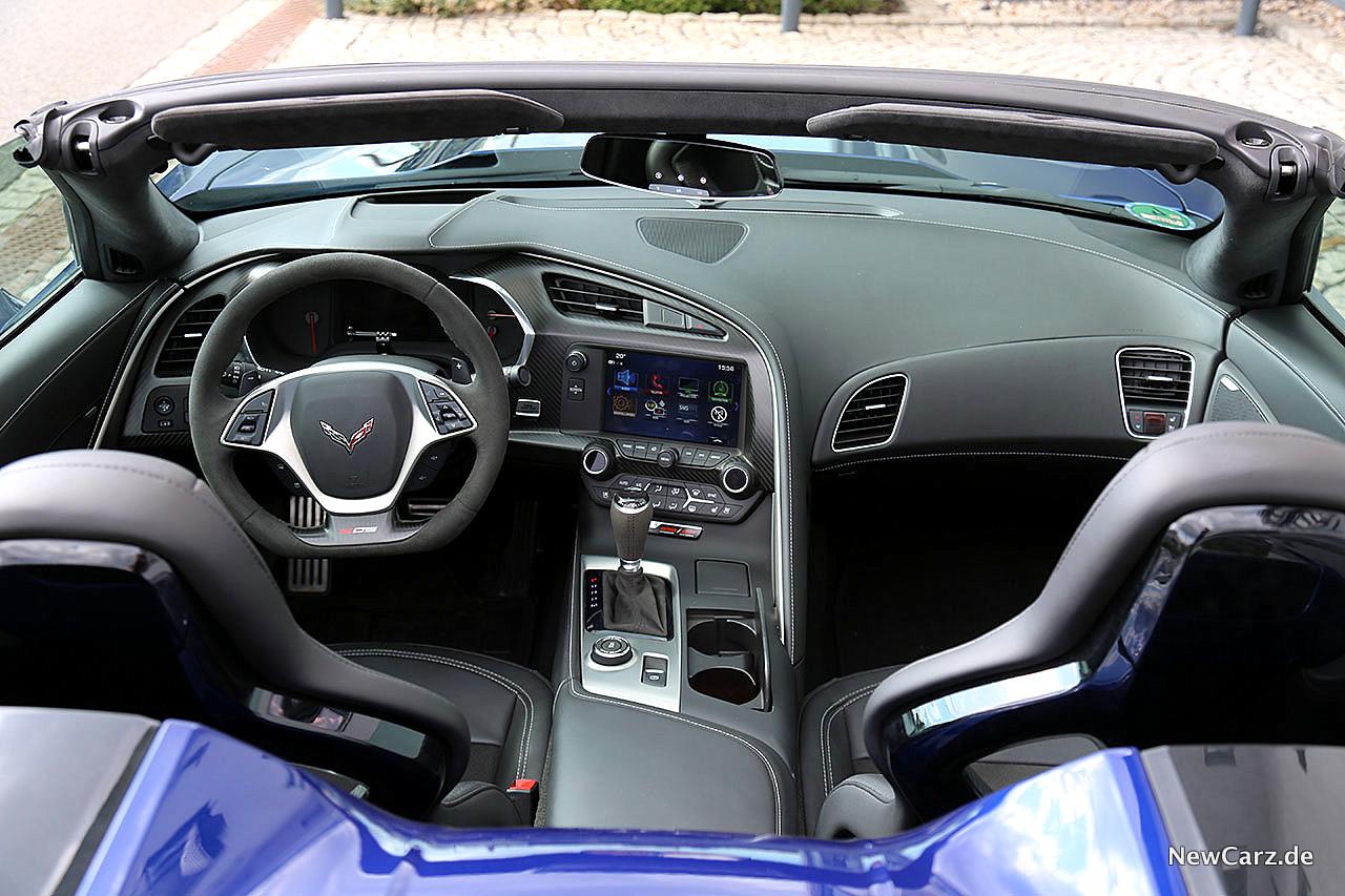 Corvette Z06 Cabriolet Offene Fahrfreude Newcarzde