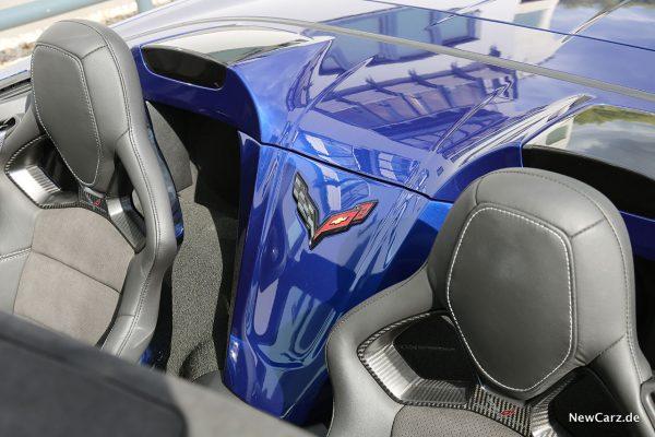 Corvette Z06 Cabriolet Verdeckdeckel