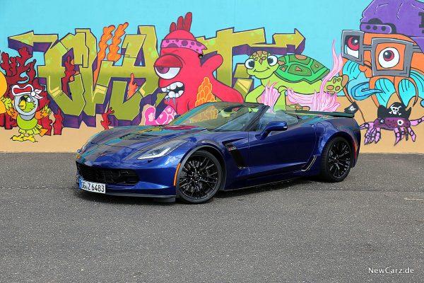 Corvette Z06 Cabriolet schräg vorn