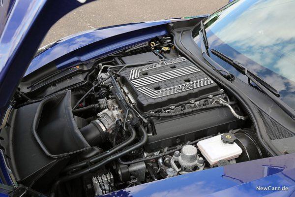 Corvette Z06 Cabriolet Motor