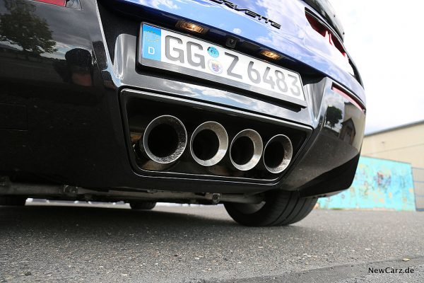 Corvette Z06 Cabriolet Abgasendrohre