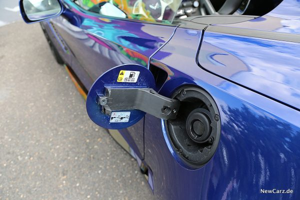 Corvette Z06 Cabriolet Tankdeckel