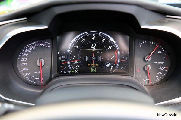 Corvette Z06 Cabriolet Tachoeinheit