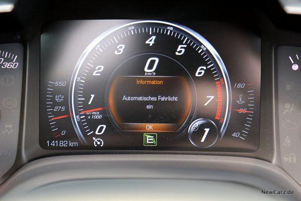 Corvette Z06 Cabriolet Drehzahlmesser