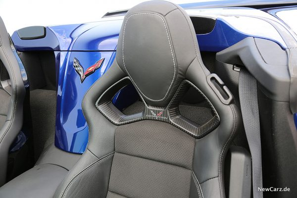 Corvette Z06 Cabriolet Sportsitzlehne