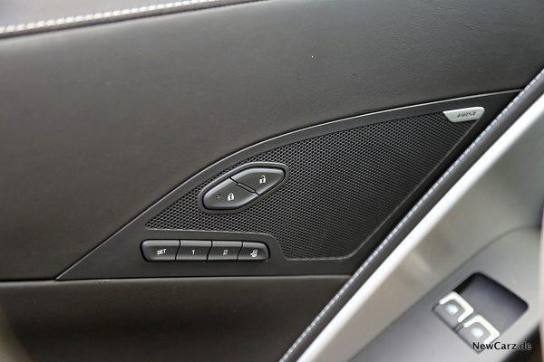 Corvette Z06 Cabriolet Sitzmemory