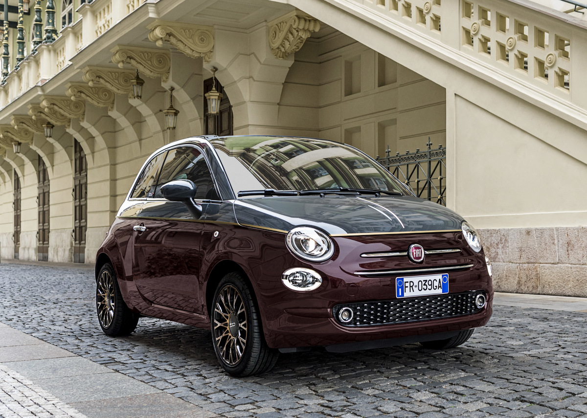 Der Fiat 500 Collezione