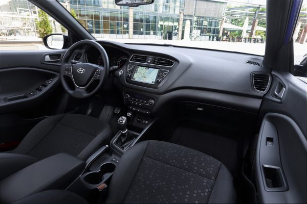 Interieur des Hyundai i20 Active