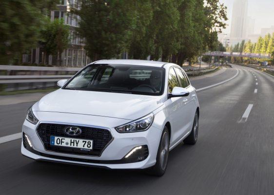 Frontansicht des Hyundai i30