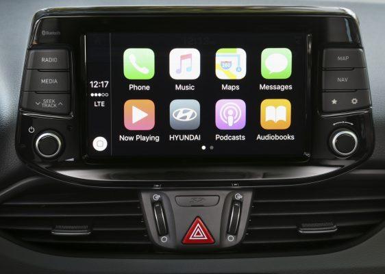 Größerer Touchscreen im Hyundai i30
