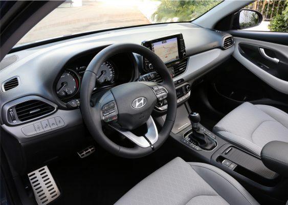 Interieur des Hyundai i30