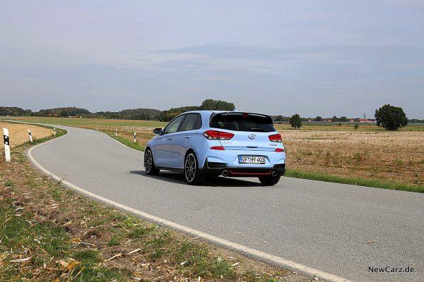 Hyundai i30 N Performance schräg hinten links