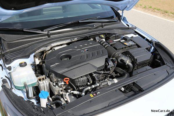 Hyundai i30 N Performance Motorraum