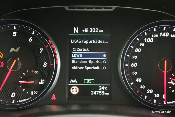 Hyundai i30 N Performance Kombiinstrument