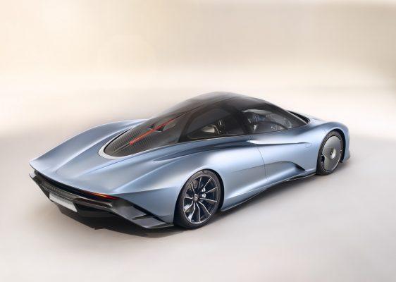Das Profil des McLaren Speedtaill
