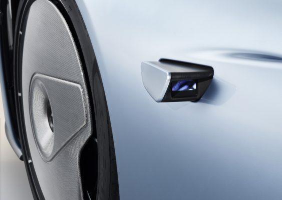 Kameras des McLaren Speedtail