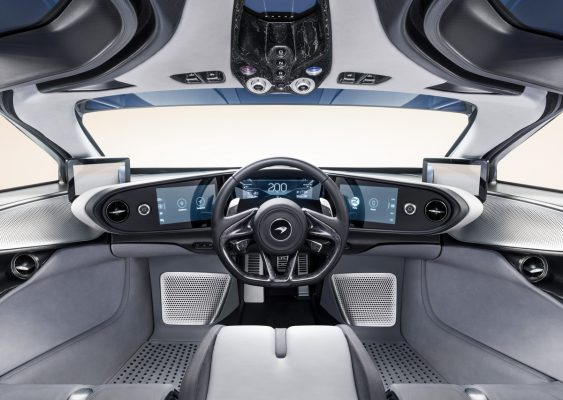 Interieur des McLaren Speedtail
