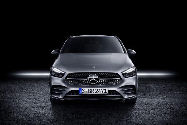 Frontansicht der Mercedes-Benz B-Klasse