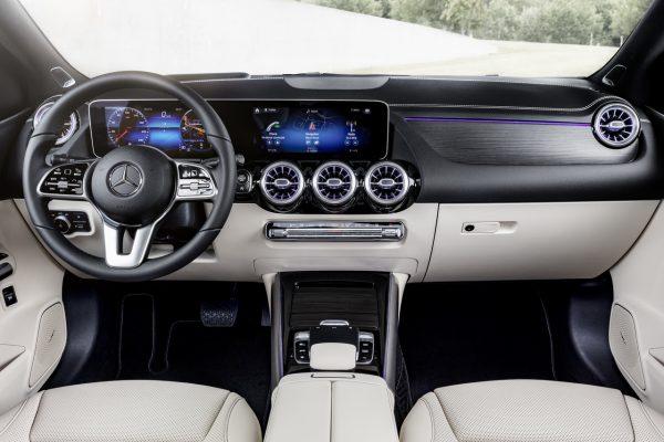 Interieur der Mercedes-Benz B-Klasse