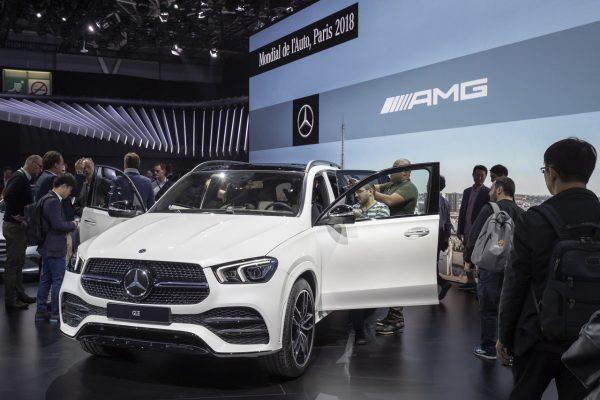 Frontansicht des neuen Mercedes-Benz-GLE