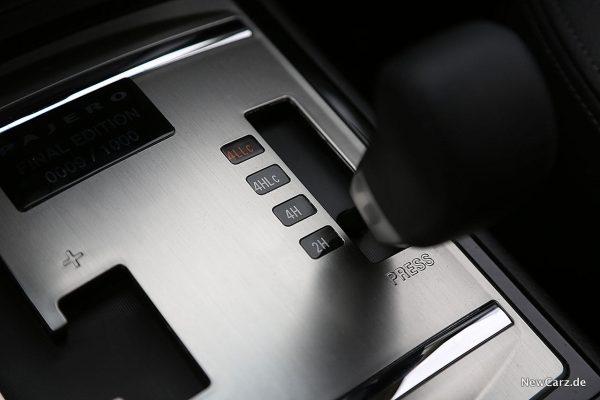 Mitsubishi Pajero Untersetzung