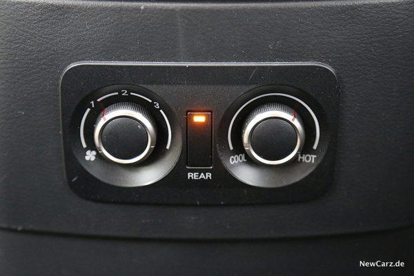 Mitsubishi Pajero Fondklima