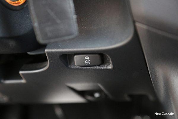 Mitsubishi Pajero ESP-Knopf