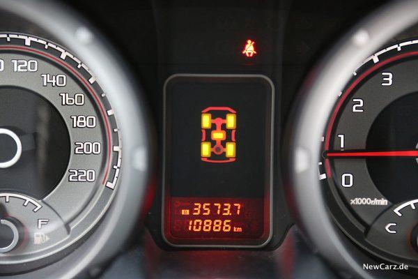 Mitsubishi Pajero Kraftverteilung Display