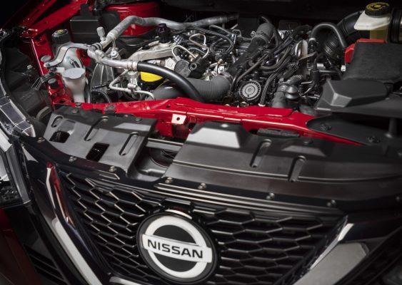 1,3-Liter-Benzinmotor des Nissan Qashqai