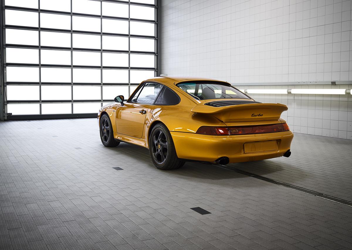 Der Porsche 911 Turbo Classic Series hat einen neuen Besitzer