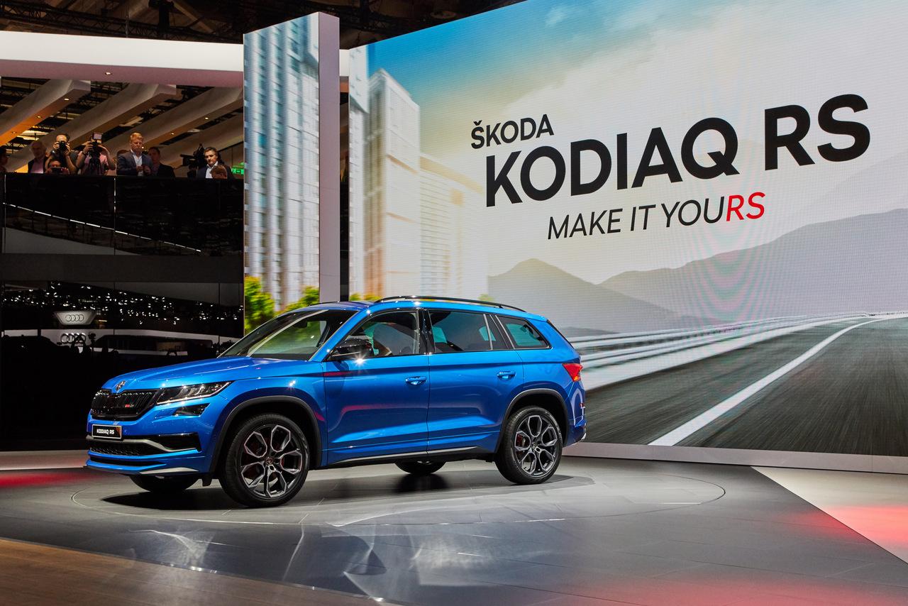 Der leistungsstarke Skoda Kodiaq RS