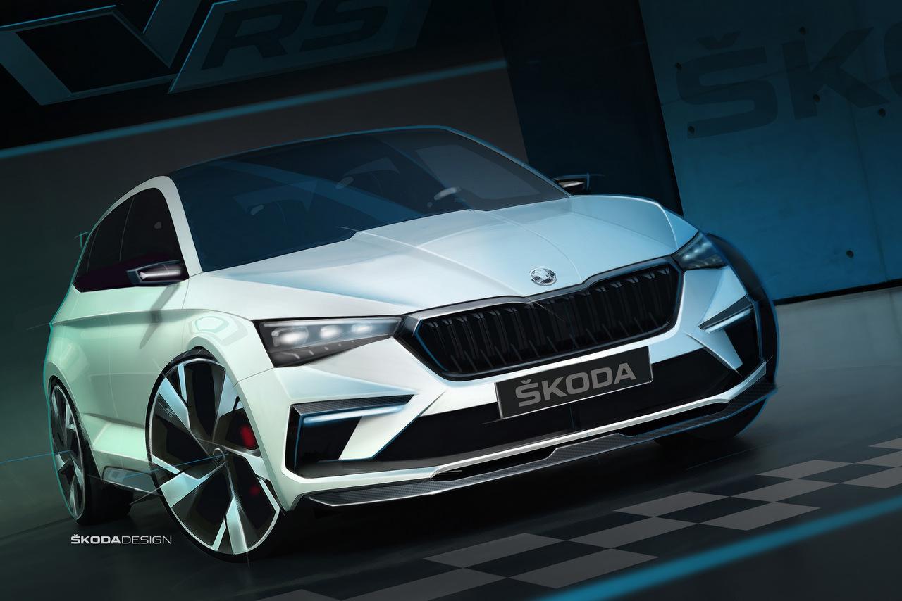 Skoda Vision RS - Ein Ausblick auf zukünftige Modelle