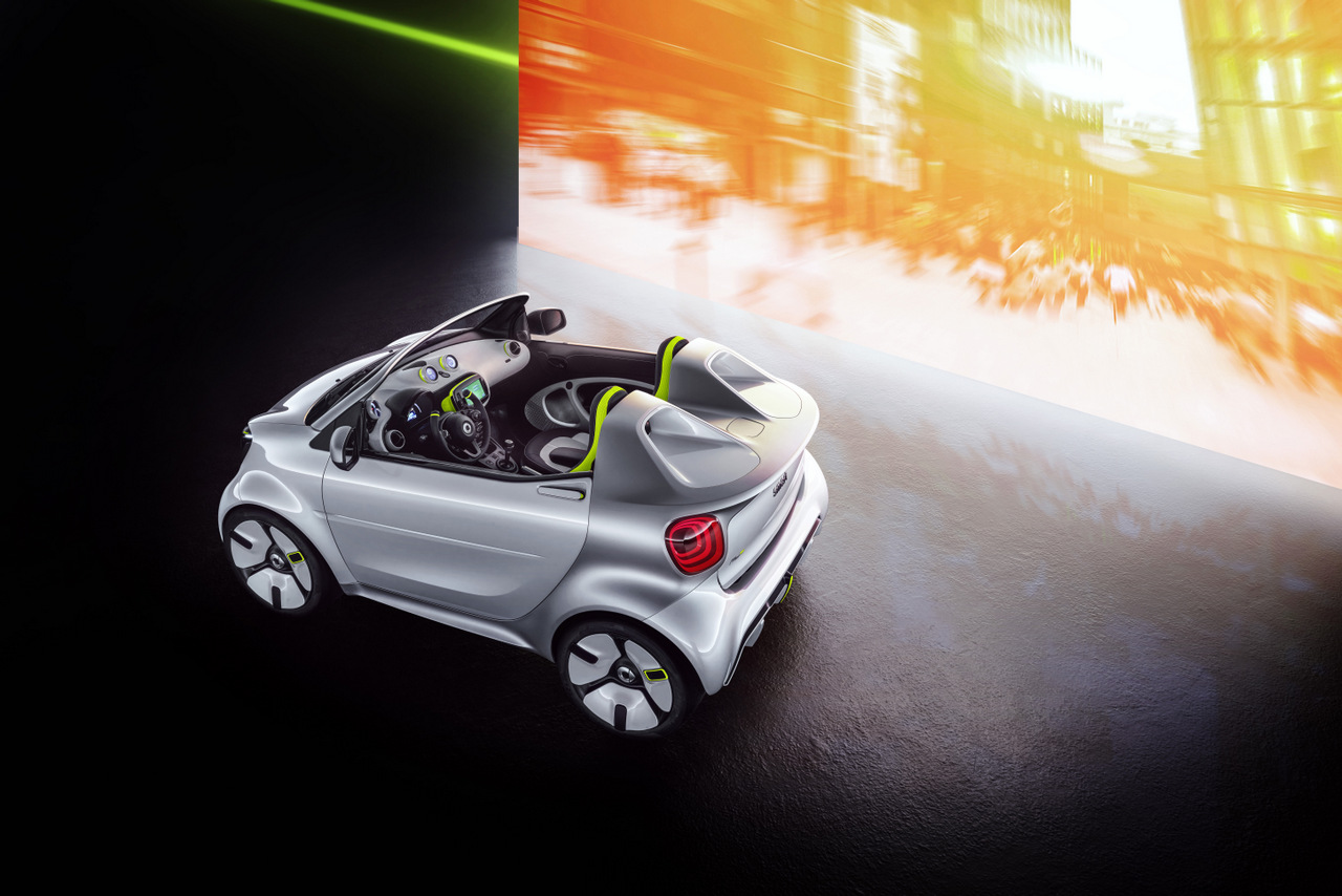 Showcar auf dem Pariser Autosalon - Der Smart Forease