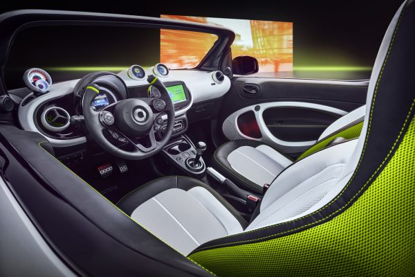 Interieur des Smart Forease