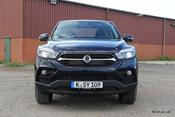 Ssang Yong Musso Front