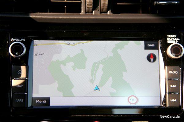 Subaru BRZ Navigation